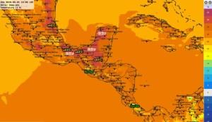 Calor este 1 de mayo 2016. Lluvias aisladas en sectores de C.A.