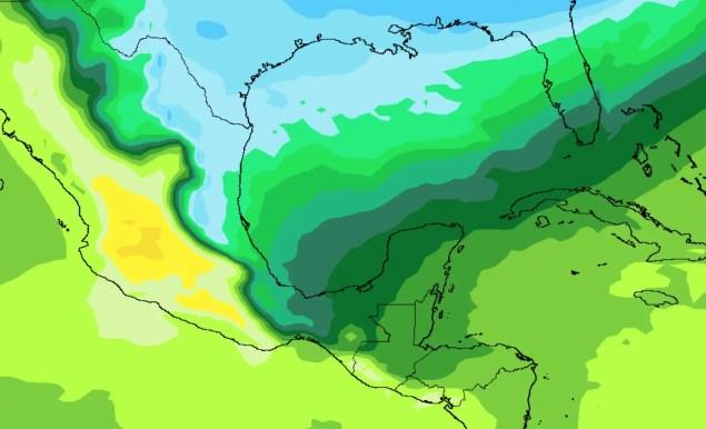 Aire polar llegará al norte de México y descenderá hacia Guatemala y Yucatán al inicio de año. 1.1.18