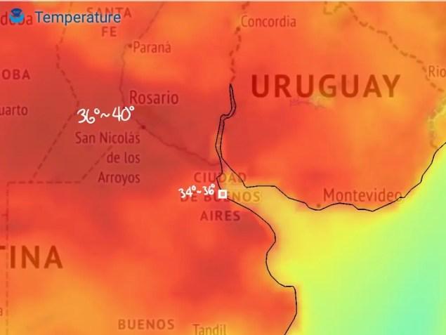 Temperaturas arriba de 35° se esperan el domingo