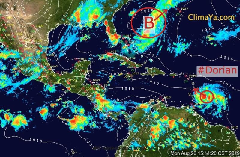 Análisis de superficio de los sistemas activos en el Atlántico