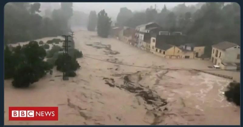 Inundaciones severas