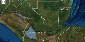 Areas con probabilidad de heladas para el altiplano occidental de Guatemala 19-20 dic 2020
