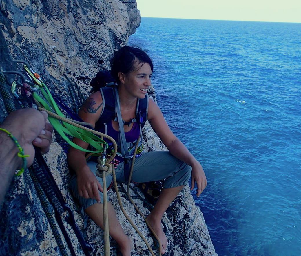 Climbing Cayman Brac - Angel on The Bluff