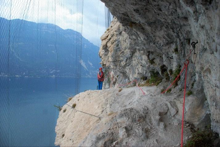 Via ferrata Sentiero dei Contrabbandieri, Arco, Włochy