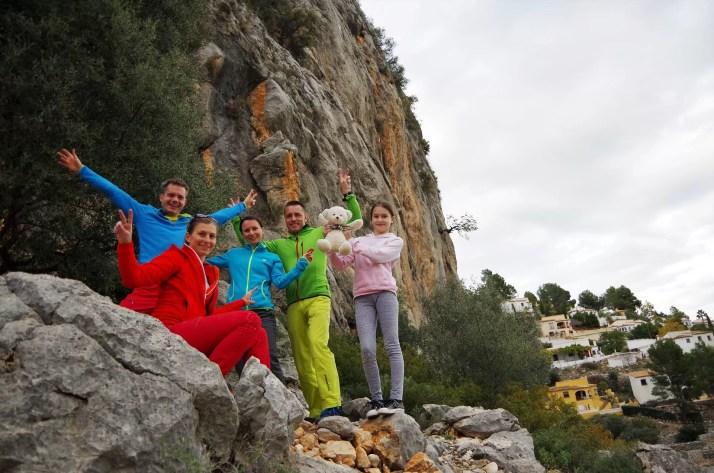 Ekipa w dolinie Xalo, rejon Alcalali