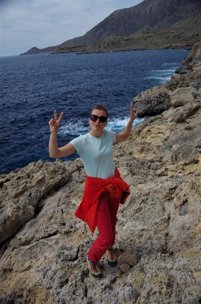 Pola na klifie Agios Ioanis