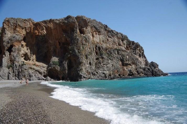 Lazurowe wybrzeże, wąwóz Agiofaragio