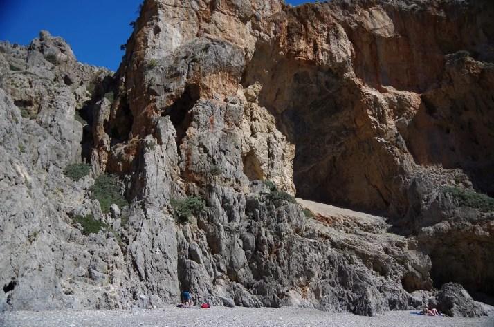 Wspinanie na plazy Agiofaragio