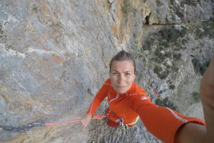 wspinanie w wąwozie Agiofaragio, Kreta