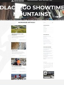 Blog showtimemountains.pl