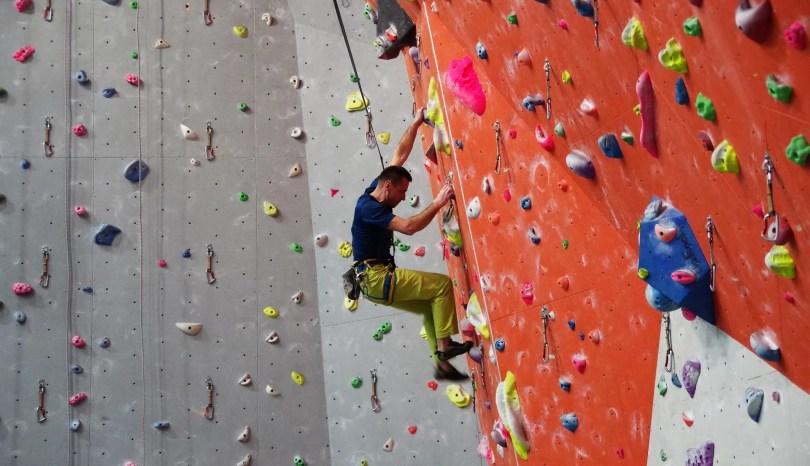 najczęstsze błędy wspinaczkowe podczas treningu wspinaczkowego