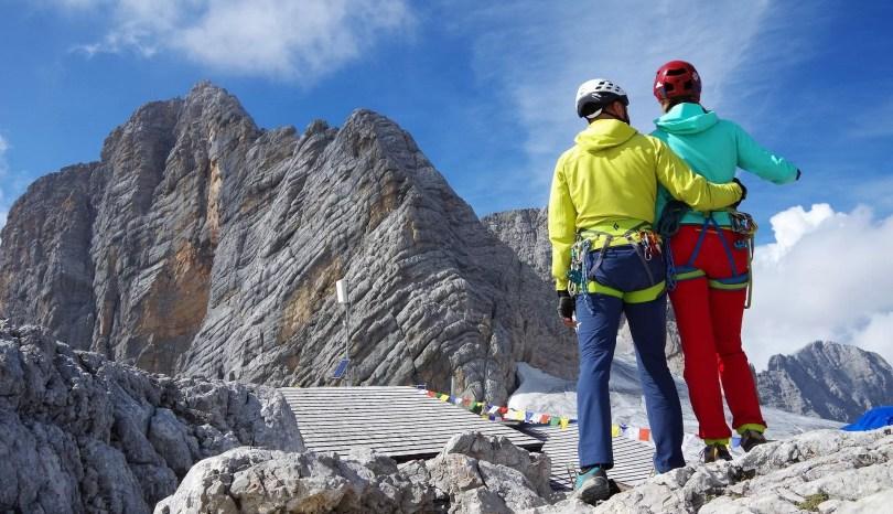 Przy schronisku Seethalerhütte na lodowcu Dachstein