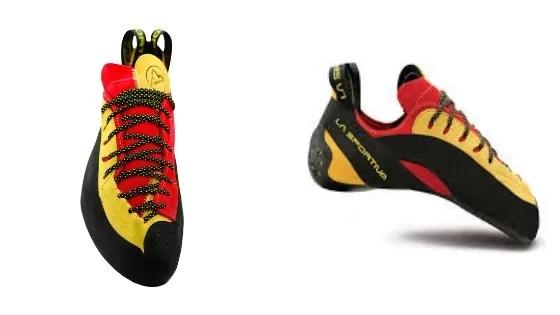 Przykład butów wspinaczkowych dla osób zaawansowanych