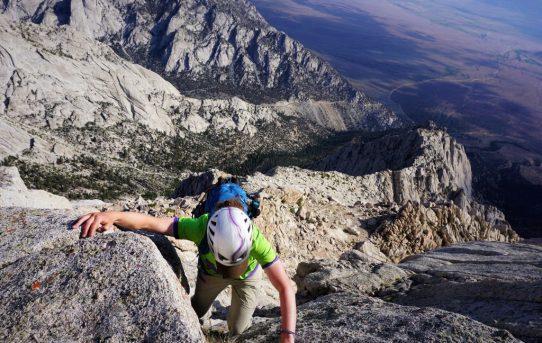 Lone Pine Peak, North Ridge (5.7)