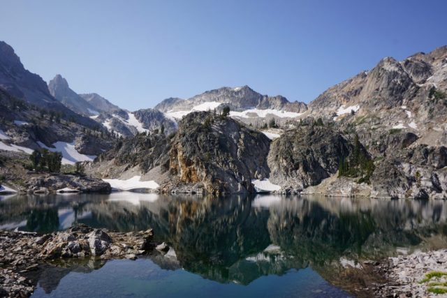 Pretty Lake in the Sawtooth