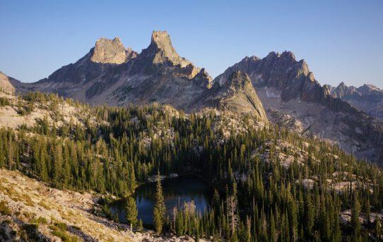Sawtooth Alpine Rock Climbing