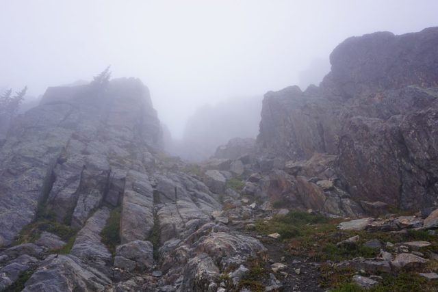 Gully Above Cup Lake