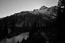 Snow Lake Sundown