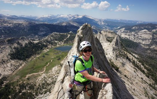 Matthes Crest Traverse (5.5) + Cathedral Peak, SE Buttress (5.7)