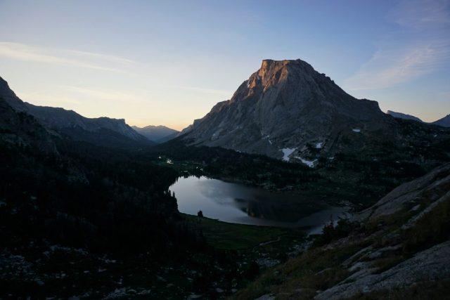 Lonesome Lake Sunrise