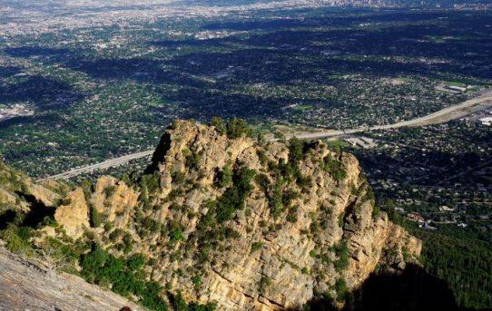 Mt. Olympus, West Slabs (5.4)