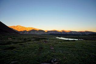 Yellowstone Basin Sunset