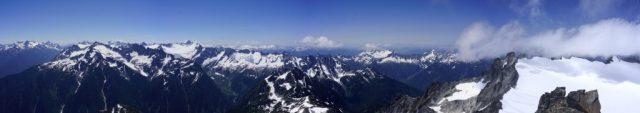 Snowfield Panorama