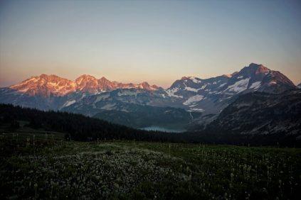 Cloudy Pass Sunset