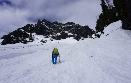 Mt. Index, Hourglass Gully