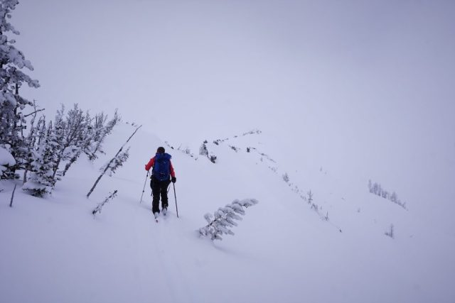 Skinning McCue Ridge