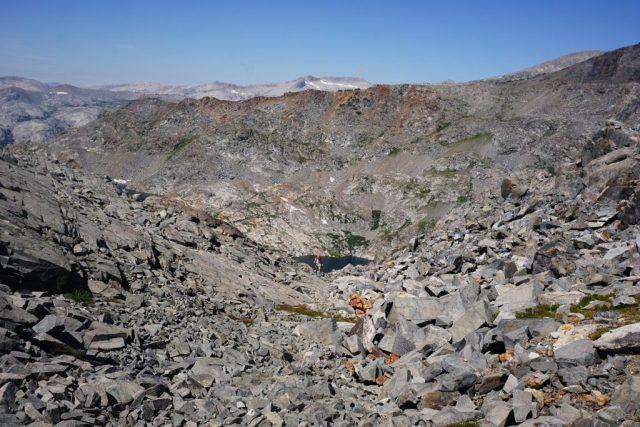 Ascending North Glacier Pass
