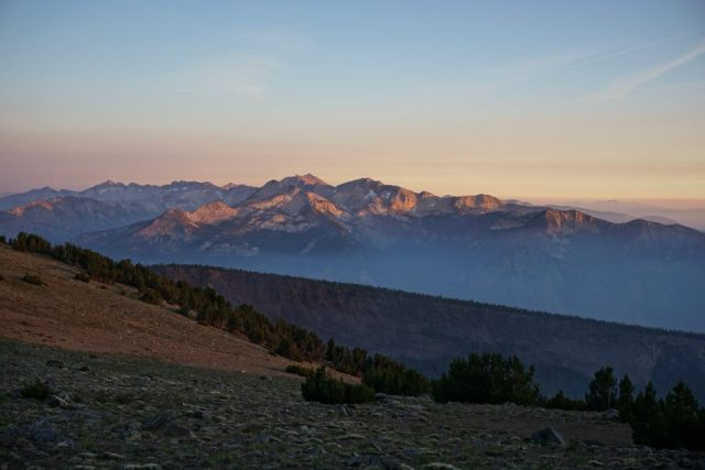 Mammoth Crest Sunset