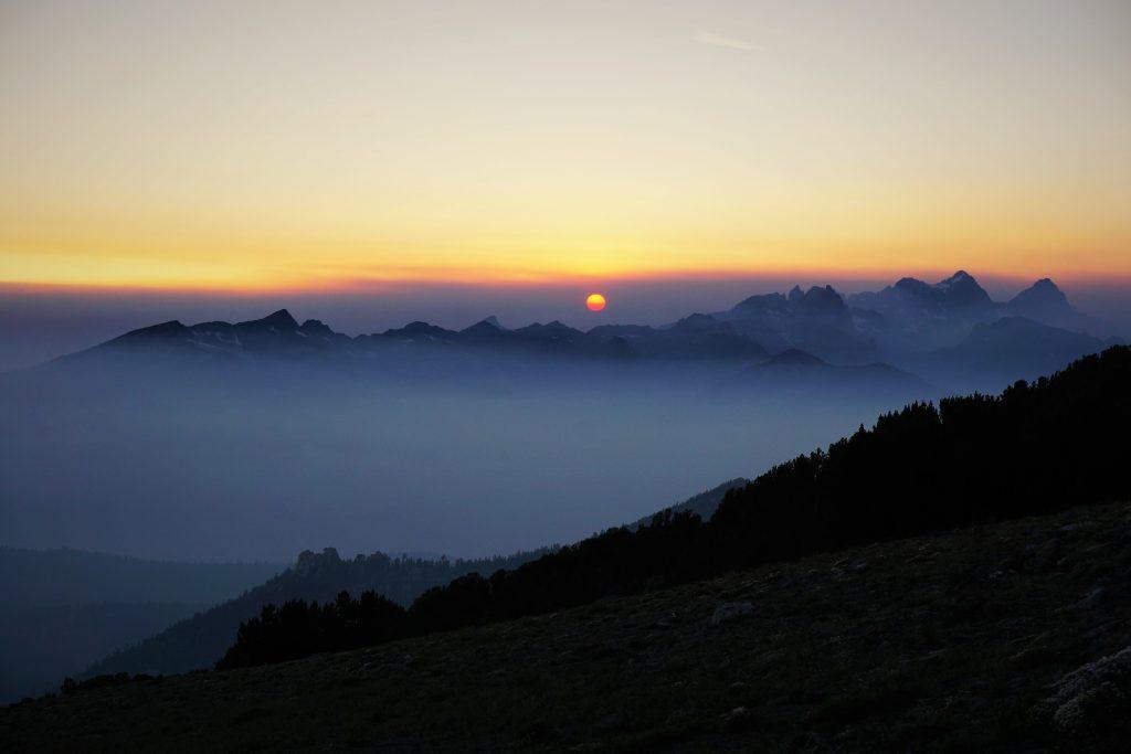 Ritter Range Sunset