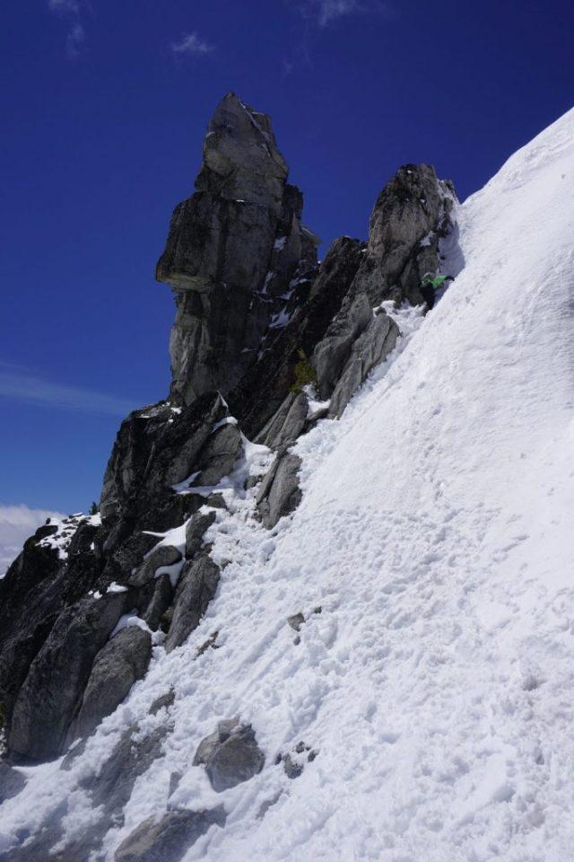 Dragontail Downclimb