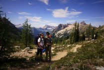The two of us at Cutthroat Pass.