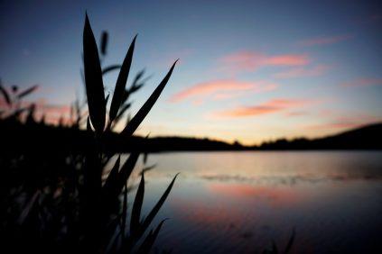 Dusk at Spooner Lake.