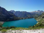 More turquoise lake photos...