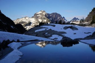 The stunning Chain Lakes Basin.