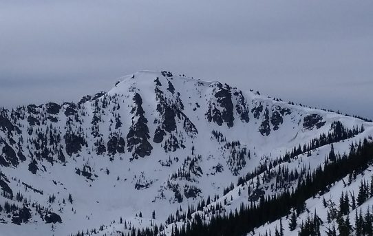 Stevens Peak Couloirs