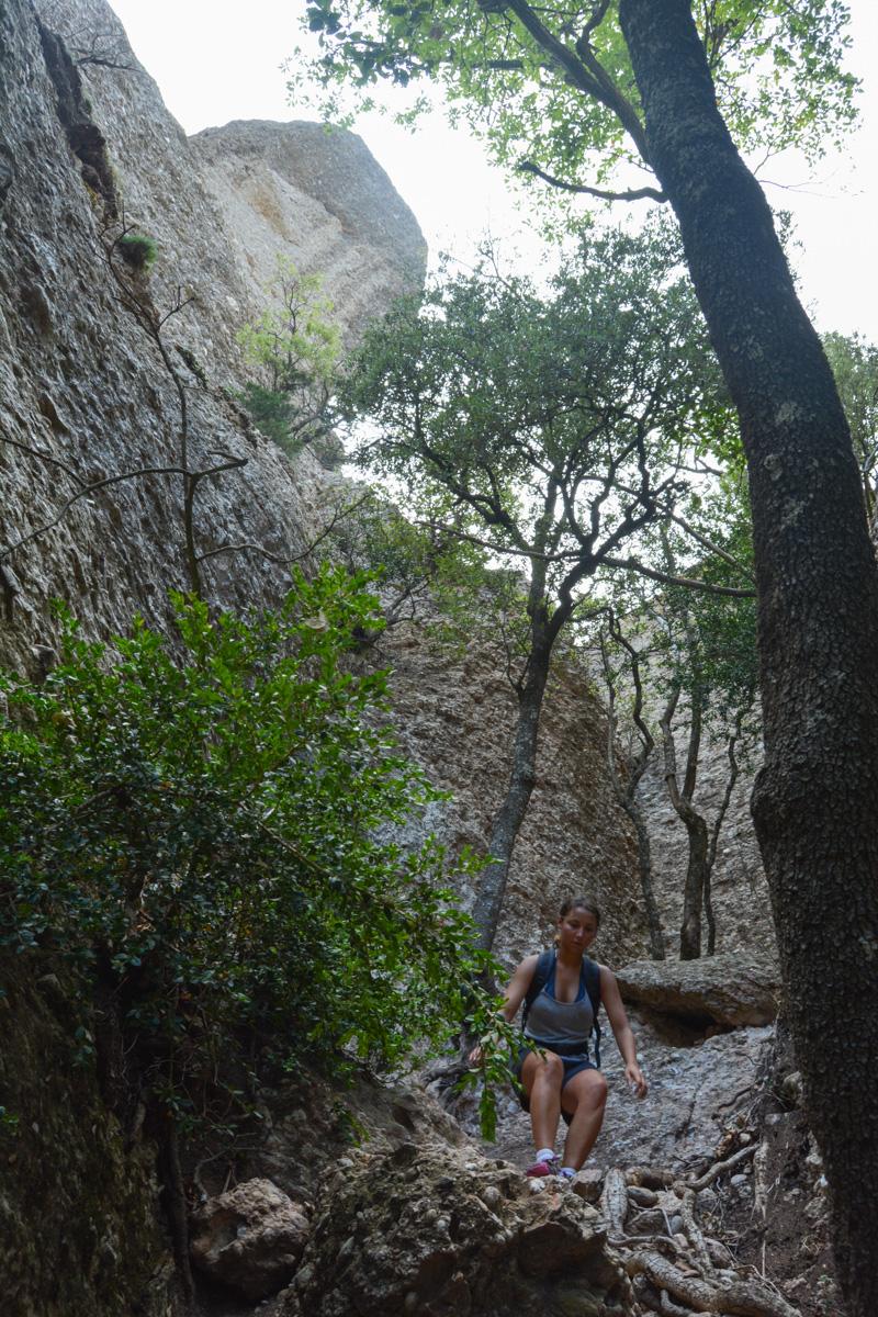 Travessa Agulles i Frares Encantats, Montserrat 35