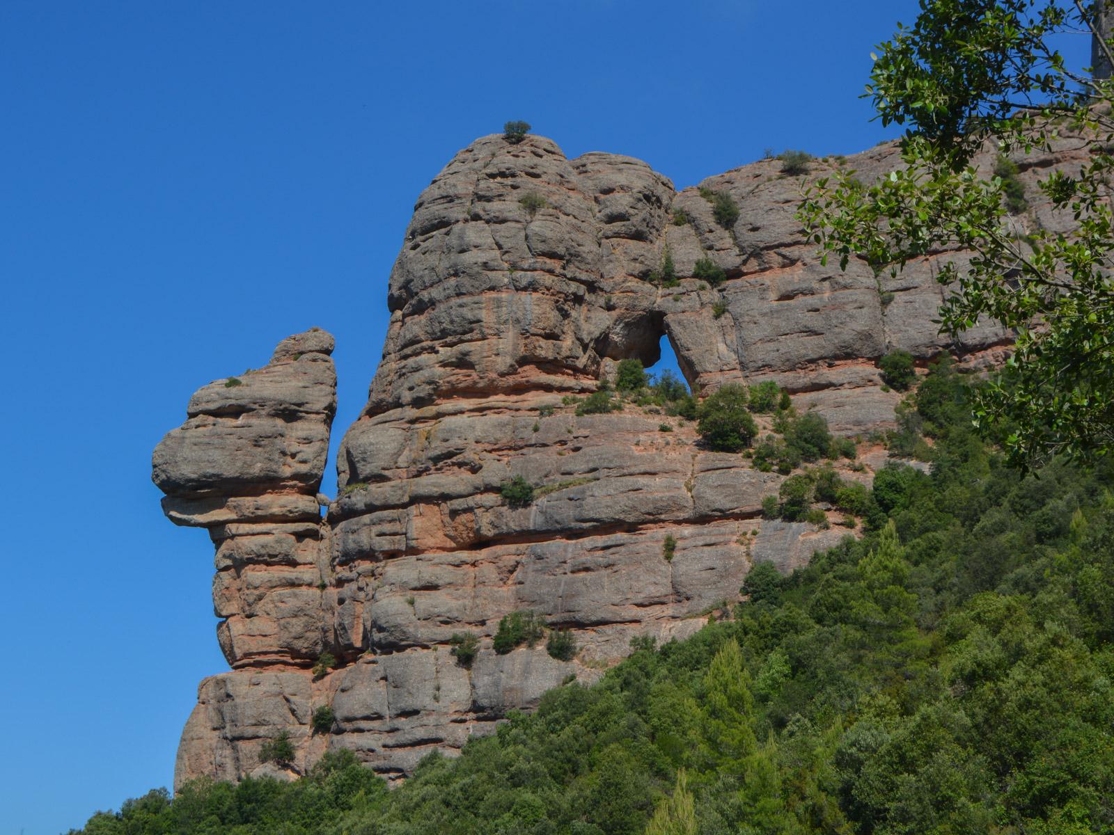 Travessa Agulles i Frares Encantats, Montserrat 42