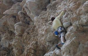 Dibba Climbing, Wadi Khab El Shamis, Musandam, Oman 7