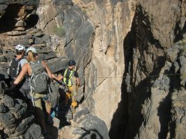 Snake canyon, Jebel Akhdar 64