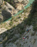 Asterix a la Peña del Santo Cristo, Olvena, Espagne 9