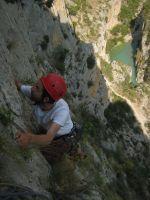 Asterix a la Peña del Santo Cristo, Olvena, Espagne 11