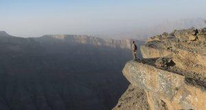 Qarn al Ghamaydah, Jebel Shams, trek W4, Oman 8