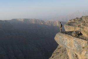 Qarn al Ghamaydah, Jebel Shams, trek W4, Oman 15