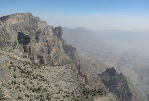 Qarn al Ghamaydah, Jebel Shams, trek W4, Oman 10