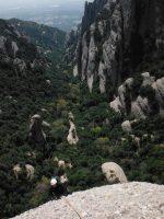 Via Cervera-Raül a la Talaïa Gran, Montserrat, Espagne 11