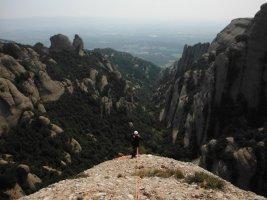 Via Cervera-Raül a la Talaïa Gran, Montserrat, Espagne 15